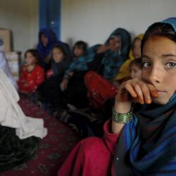 Photo of Afghan girls by DVIDSHUB, available on Flickr. Creative Commons 2.0.