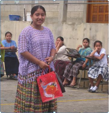 Graduate from Centro Maya Asunción.