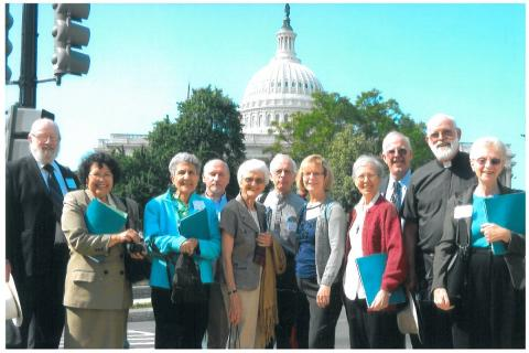 Maryknollers attend Maryknoll on the Hill, a special event in May 2012